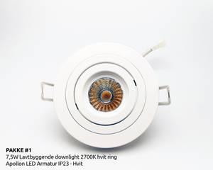 Bilde av Pakke 20 STK - 7,5W LED